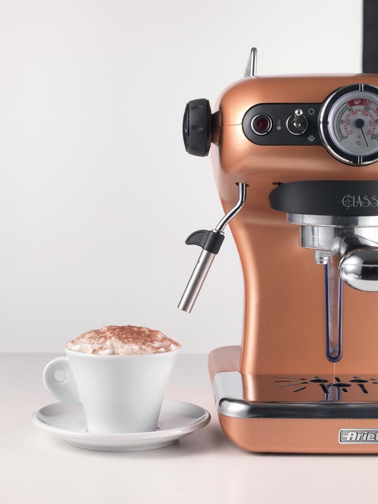 מכונת קפה כולל מקציף